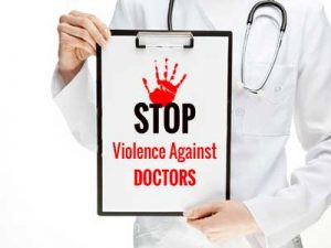 250 Doctors Strike over attack on colleagues at Osmania Hospital