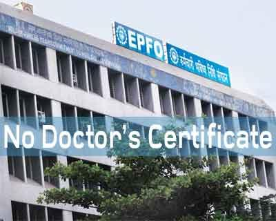 You can withdraw EPF for treatment without doctor certificate