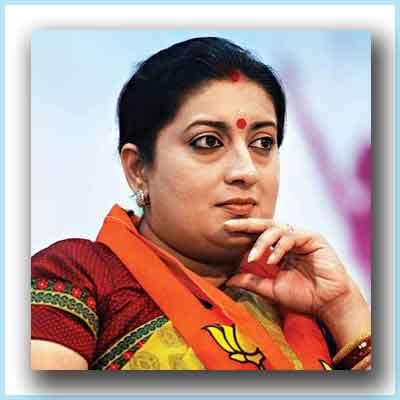 Amethi lacks medical facilities: Smriti Irani