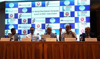 International Academy of Oral Oncology launches its India Chapter