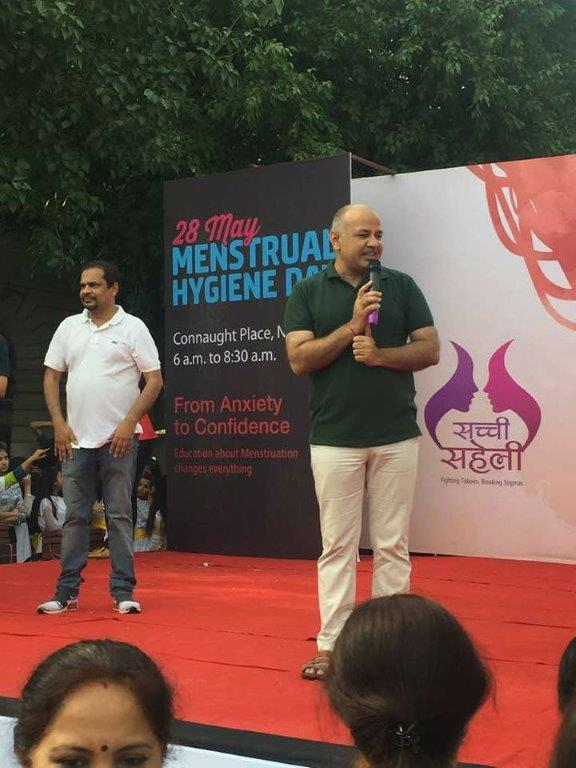 Celebrating menstruation in the heart of the national capital