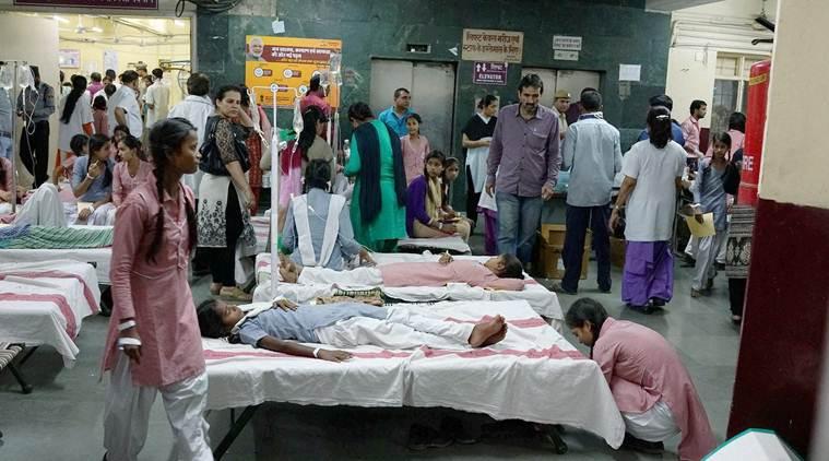 Delhi gas leak: AIIMS wants Tughlaqabad depot shifted after 450 kids suffer