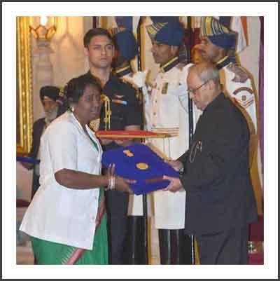 Odisha nurse gets Florence Nightingale Award