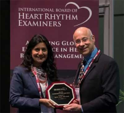 Dr Aparna Jaswal appointed as the Ambassador of IBHRE for 2017