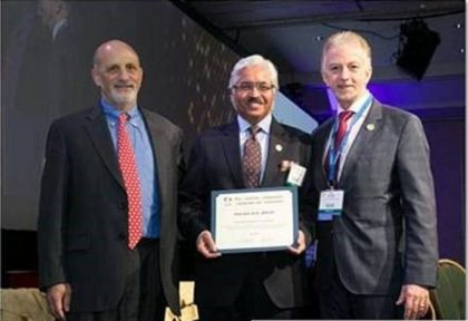 Dr Ashok Seth conferred prestigious Master Interventionalist award by Society of Cardiovascular Angiography and Intervention