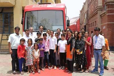 Delhi: PwC, Bal Umang Drishya Sansthan launch mobile healthcare van project