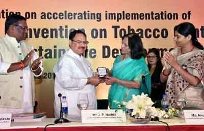 JP Nadda conferred WHO Director-Generals Special Recognition Award