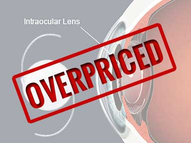 After Stents and Catherter, FDA moves Scanner to Overpriced Intraocular Lenses