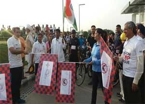 Medanta hosts Cyclethon to create awareness for Mission Stop Dengue initiative