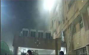 Lucknow: Fire breaks out at KGMC hospital, no casualties reported