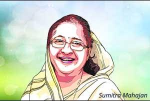 National health policy a landmark step: Sumitra Mahajan