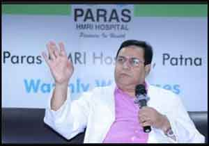 Paras HMRI Hospital Patna appoints Dr Jitendra Kumar as Director