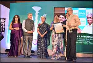 FICCI awards Dr KR Balakrishnan for his contribution to Healthcare