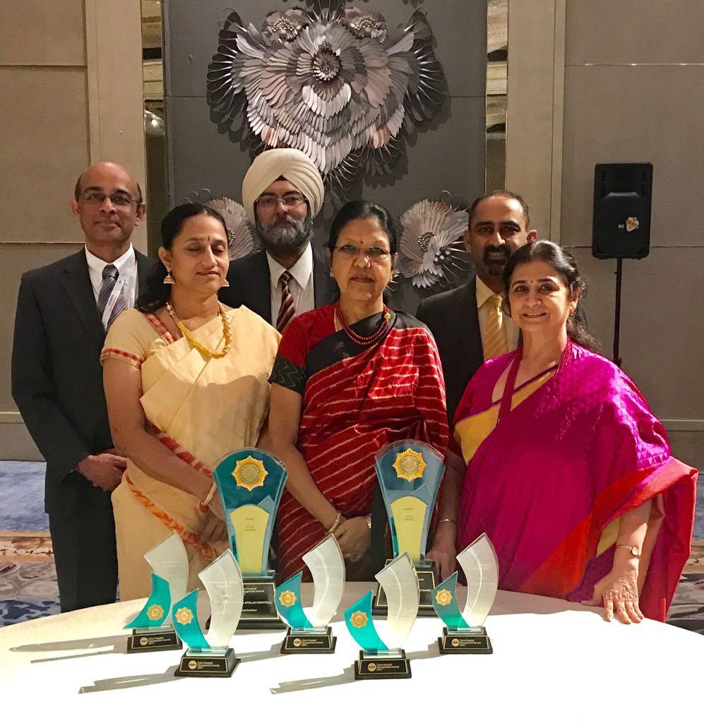 Apollo Hospitals tops at Asian Hospital Management awards
