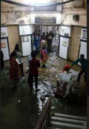 Mumbai Flooding: Hospitals under water