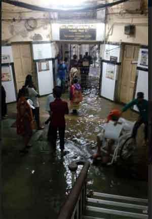 Mumbai Flooding: Hospitals under water