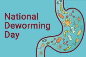 Second Biannual National Deworming Day to tackle worm infections in children