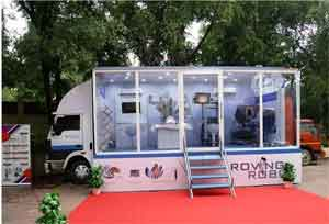 Roving Surgical Robot to Tour 4 Key Andhra Pradesh Cities