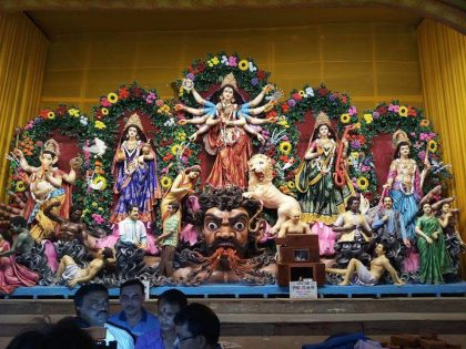Durga Puja Depicts Doctors As DEMONS, Medical Fraternity cries fowl