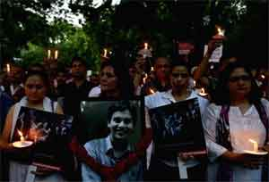 St Stephens Murder Case: Doctors take out candle march, police releases Sketch of accused