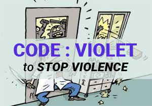 Dial Code VIOLET for Violence against doctors: Protocol