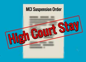 MCI cannot suspend practicing doctor without Prior Notice: High Court