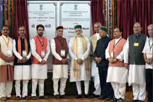 PM Modi lays foundation stone of AIIMS at Bilaspur
