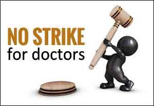 Rajasthan Doctors Strike: Rs 2 lakh cost imposed on Doctor leader, transfer petition rejected