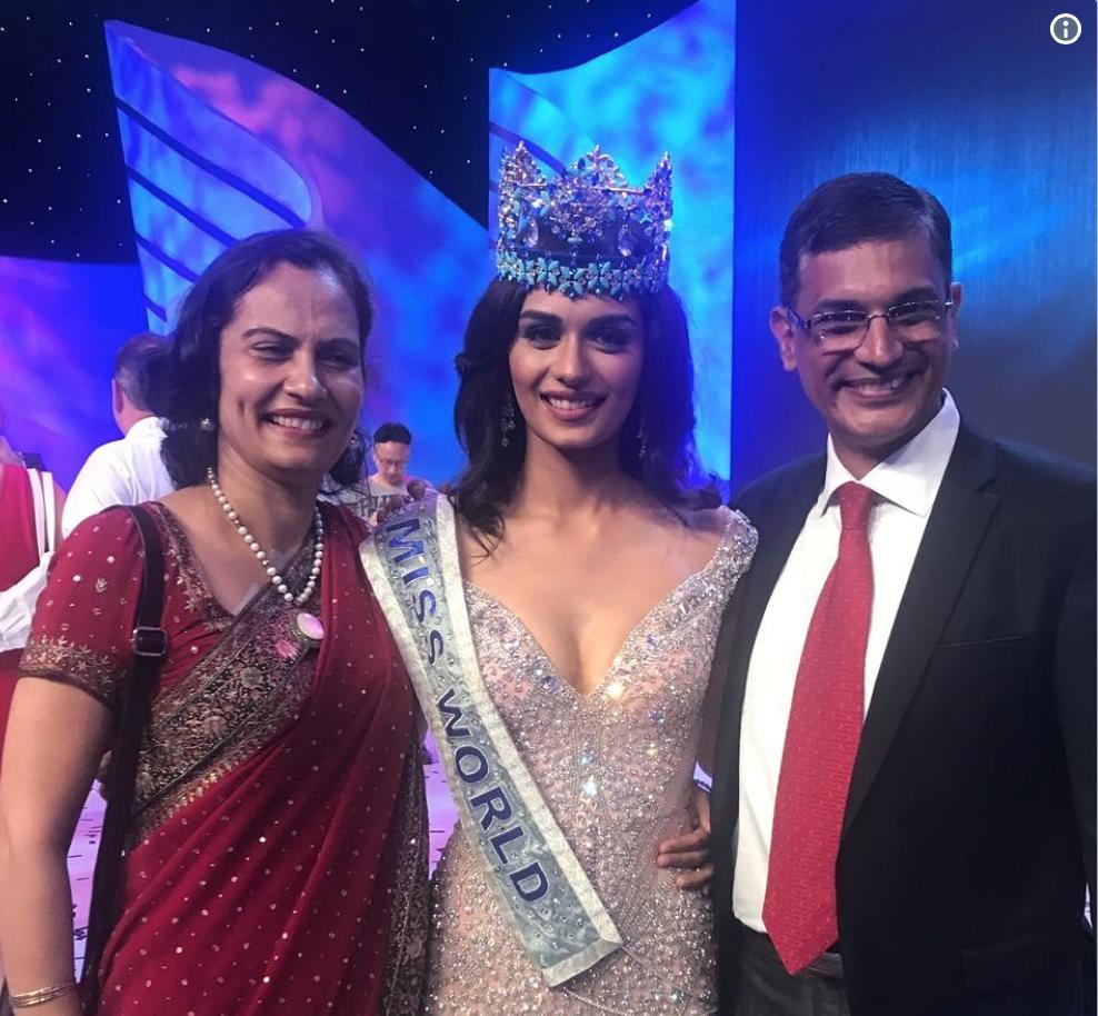 Indian Medico Manushi Chhillar crowned Miss World 2017