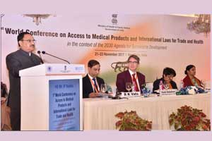 JP Nadda inaugurates first world conference on access to medical products and international laws for trade
