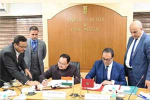 India, Morocco sign MoU for enhanced cooperation in healthcare
