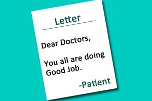 You all are doing a good job: LAMA Patient Letter to LHMC Doctors