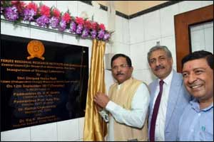 Naik lays foundation stone for Homeopathy Research Institute in Jaipur
