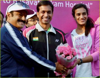 Sindhu donates Rs 25 lakh KBC prize money to cancer hospital