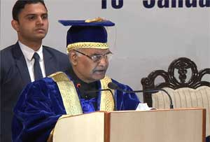 It is for society to profit from Medical Science, not for medical science to profiteer from society: President