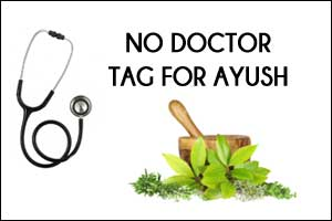 AYUSH Practitioners should not be called Doctors, but Vaidya, Vaidyaraj, Hakim etc: Parliamentary Committee