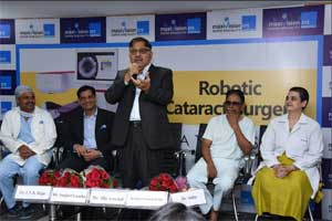 "Maxi Vision Eye Hospitals launches advanced Laser System ""Catalys femto second laser"" device"
