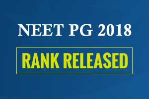NBE releases NEET PG 2018 Rank, check out details