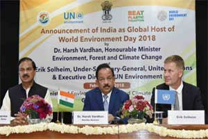 UN names India as Global Host for the World Environment Day 2018