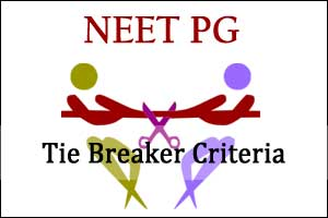 MBBS Marks NOT Age to be Tie Breaker Criteria in NEET PG 2018-NBE
