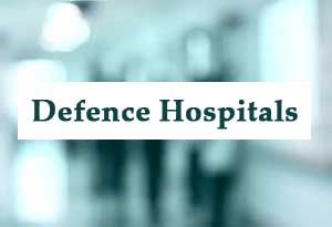 112 Military Hospitals, 12 Air Force Hospitals and 9 Naval Hospitals in the country