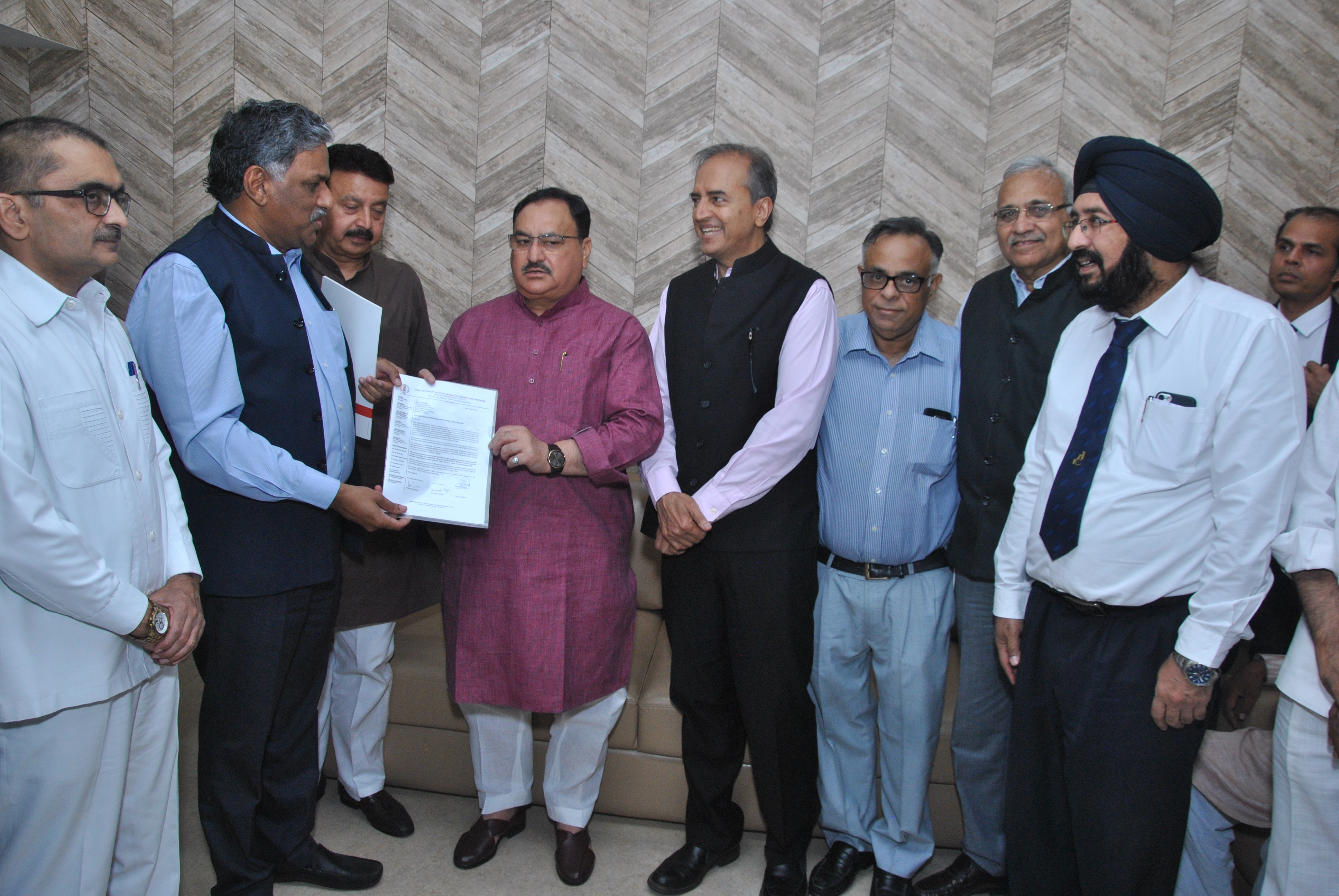 ANBAI officials Meet Health Ministry: Nadda Assures MD-DNB equivalence