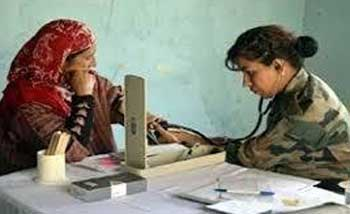 Indian Army organised free medical camp in Poonch