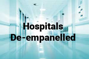 9 Hospitals de-empanelled from MJPJAY, 11 suspended