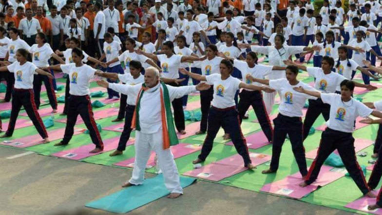 4th International Day of Yoga celebrated