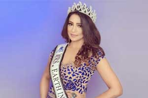Jodhpur based Gynaecologist Crowned Mrs Earth International 2018