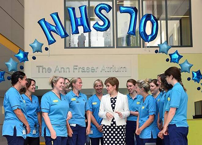 Britain celebrates 70th Anniversary of National health Service