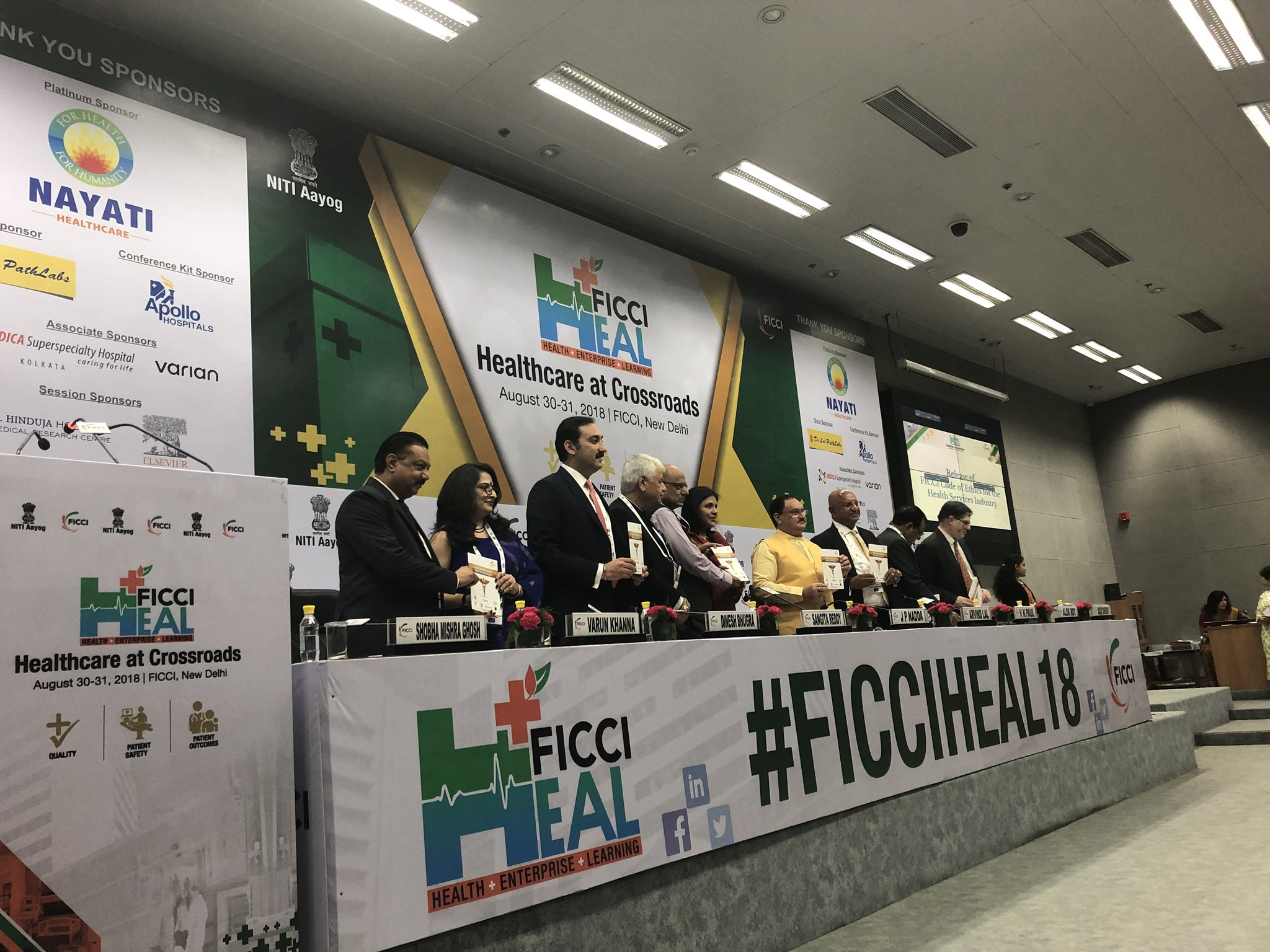 Healthcare at Crossroads: FICCI Heal 2018 addresses key issues in Indian healthcare