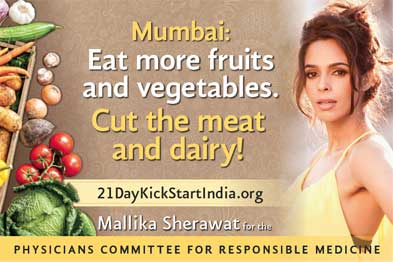 Mallika Sherawat to visit Medical Colleges across India to Promote Veganism to MBBS students