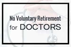 NO voluntary retirement for Govt Doctors: Supreme Court upholds UP Govt Decision